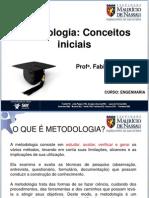 Aula 1 - Metodologia