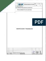 CTEB-000-InGE-G-PT-0012 Rev. 0 Identificacion y Trazabili
