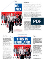 This is England Film Poster Analysis