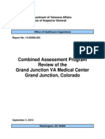 Combined Assessment Program Review of the Grand Junction VA Medical Center Grand Junction, Colorado