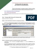 Benner - Configuração de Segurança Para Usuários Não Administradores