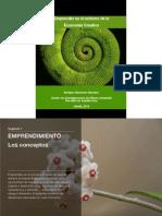 Emprender en El Entorno de Economia Creativa