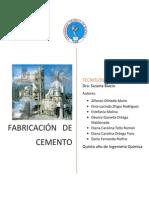 procesamiento cemento