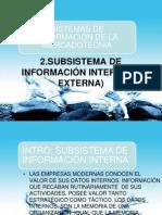 Unidad 2 Subsistema de Info Interna