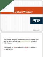 The Johari Window-ss103