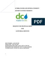 Dc Water Janitorial