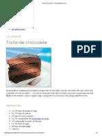 Torta de Chocolate-Encasadekristina