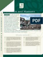 Fertilisers and Manures