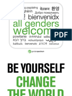 Gender Spectrum - Welcoming Signs