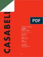 Casabella Indici 1996-2005