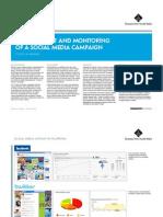 Measuring a social media campaign