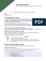 Struts HTML Multibox En