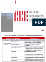 - Modelo de AA Das BEs- Quadro Comparativo