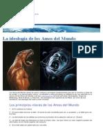 La Ideología de Los Amos Del Mundo