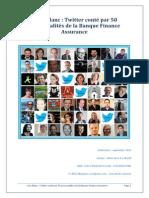 White Paper - Twitter Conté Par 50 Personnalités de La Banque Finance Assurance