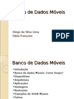 Trabalho Banco de Dados Moveis.odp