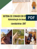 Sistema de Comando Em Operacoes - Administracao de Desastres
