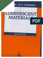 G. Blasse and B.C. Grabmaier - Luminescent Materials