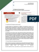 Fundamentos de Negocios Internacionales