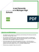 holocaust and genocide education in michigan high schools