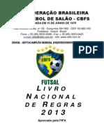 FUTSAL - Livro Nacional de Regras 2013