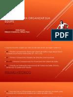 Futsal - Sugestoes Para Prganizar Sua Equipe