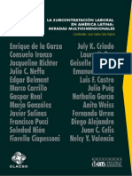 La Subcontratacion Laboral en America Latina Celis 2012