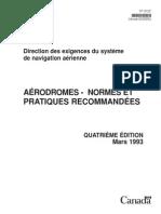 Aerodrome Normes Et Pratiques-Transport Canada