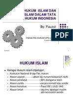 Sejarah Hukum Islam Dan Hk Islam Dlm Tata Hukum Indonesia