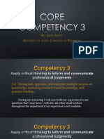 core competency 3