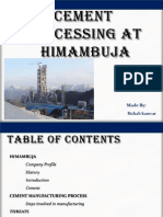 Cement Processing