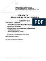 Introduccion Resistencia de Materiales