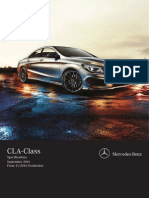Cla Class Specifications