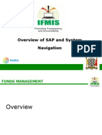 Overiew of SAP and System Navigation