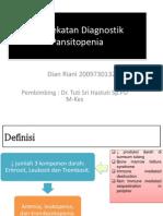 REFERAT Pendekatan Klinis Pansitopenia