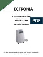 Manual Ar Condicionado Portatil Electronia TC-N12KRH - 1218323
