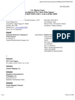 INDEMNITY INSURANCE COMPANY OF NORTH AMERICA v. M/V COSCO NAGOYA et al docket