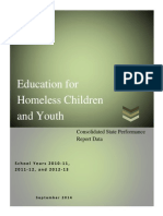 Education for Homeless Children and Youth