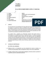 Psicologia de La Inclusion 2014-II