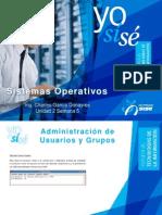 Sistemas Operativos Semana 7