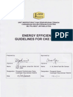 JKR Energy Efficiency Guidelines (Lighting & TX)