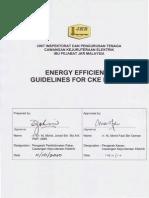 JKR Energy Efficiency Guidelines (Lighting & TX)