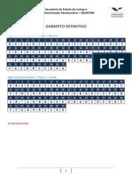 Sejap13 Agente Gabarito Definitivo