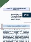 Responsbalidad Social Como Estrategia
