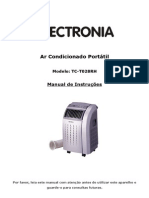 Manual Ar Condicionado Portatil Electronia TC-T028RH - 1218324