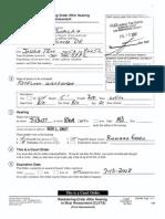 Watterson Restraining Order 2007