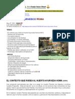 El Huerto Ayurvedico Homa