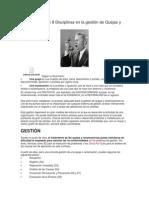 Aplicación de Las 8 Disciplinas en La Gestión de Quejas y Reclamaciones