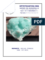 ORYKTOLOGIKA NEA-NEWS ON MINERALS , March-April 2012