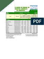 1 Reporte Diario de Precios de Productos Agricolas de Honduras
